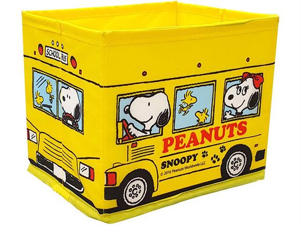 [並行輸入品] スヌーピー折りたたみダスト スクールバス メーカー公式 明邦
