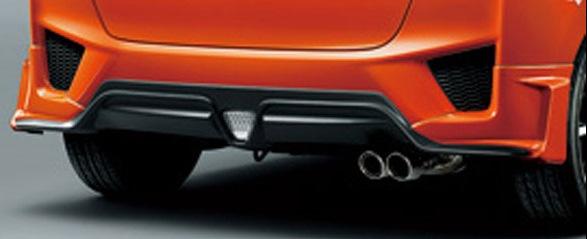 FITHYBRID・13GSパッケージ(FF/4WD)RS リアアンダースポイラーカラード仕上げ ホンダHONDA/エアロ 【無限 ムゲン】 (代引不可)