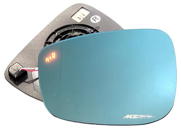 CX-5(KE系/CX-3(DK系)全車用 マルチファンクション LED ブルーミラー MZRacing