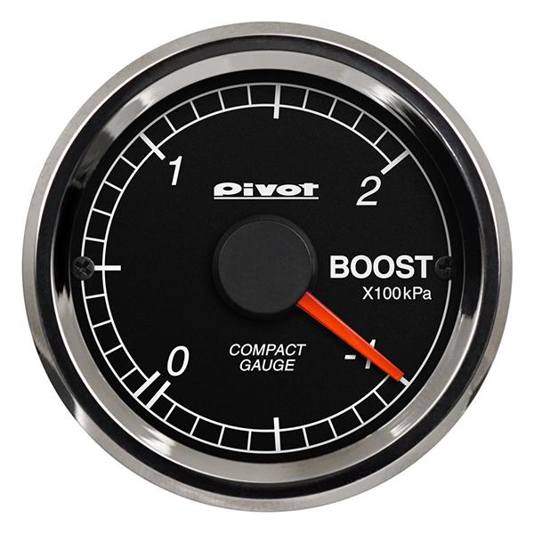コンパクトゲージ 52 シングルメーター ブースト計 CPB ピボット(Pivot)