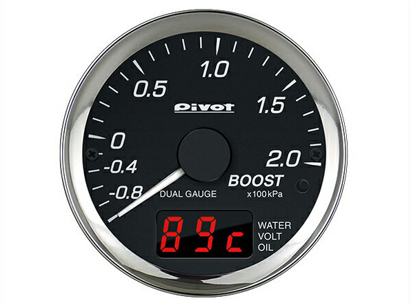 メーター DPB-E BMW・VWナドノユーロ車用 デュアルゲージプロ(PRO) PIVOT(ピボット)