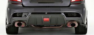 GVC-STIインプレッサ専用 リアバンパフェース純正色塗装 【Prova プローバ】 エアロ(代引不可)