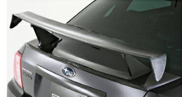 GVC-STIインプレッサ専用 レーシングRウィングキットカーボン+カーボン 【Prova プローバ】 エアロ(代引不可)