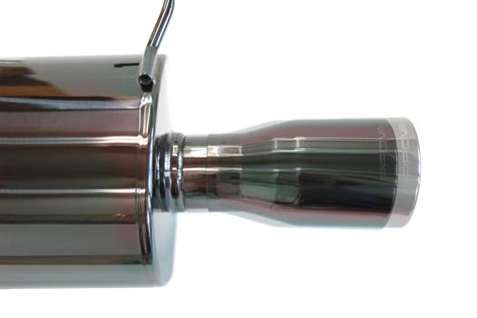 供Prova(puroba)黑色不銹鋼運動圍巾運動排氣配套元件遺贈物BM/BR GT/DIT使用的*JQR認定