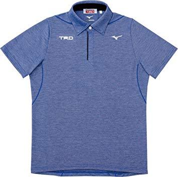ポロシャツ サーフブルー杢 08293-SP203 【TRD】