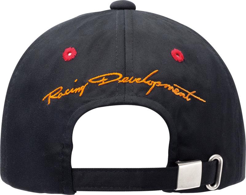 TRD 帽子帽斜紋黑色