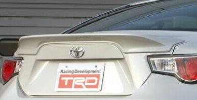 TRD トヨタ86(ZN6) リアトランクスポイラー 素地 【toyota 86】 【toyota】 【トヨタ】 【TRD】