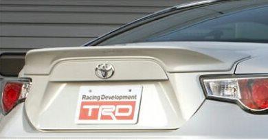 TRD トヨタ86(ZN6) リアトランクスポイラー クリスタルホワイトパール (K1X)【toyota 86】 【toyota】 【トヨタ】 【TRD】