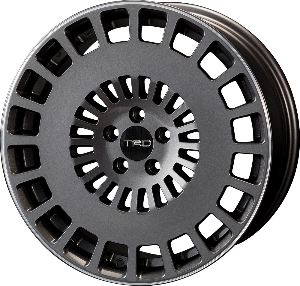 One 18 Inches Of Aluminum Wheel Trd Tf8 Toyota Prius Phv Zvw5