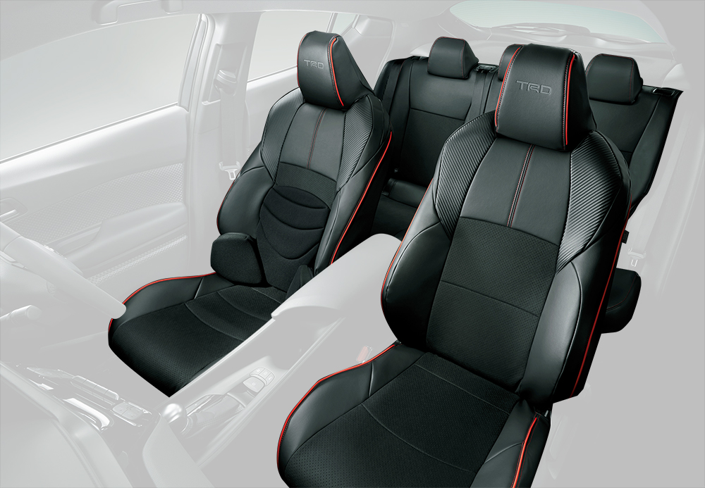 Tremendous Trd For Sports Seat Cover Toyota C Hr G T S T Camellatalisay Diy Chair Ideas Camellatalisaycom