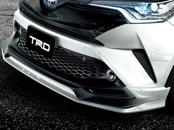 フロントスポイラー(LEDなし) トヨタ C-HR 素地 TRD【TRD】 (代引不可)