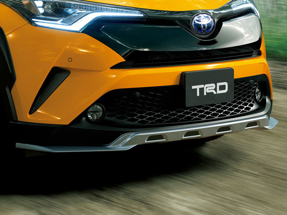 フロントスポイラー トヨタ C-HR TRD【TRD】 (代引不可)