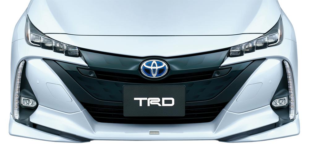 フロントスポイラー(LEDなし) トヨタ プリウス PHV(ZVW5#) 塗装済 TRD【TRD】 (代引不可)