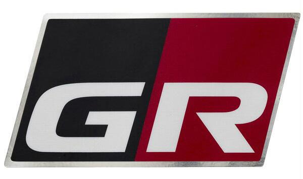 GR 信託 在庫限り ディスチャージテープ GRロゴ入りアルミテープ TRD 大:4枚セット