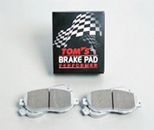 TOMS(トムス)ブレーキパッド パフォーマ フロント セルシオ、マークX、レクサス GS/IS他 0449A-TW600-B