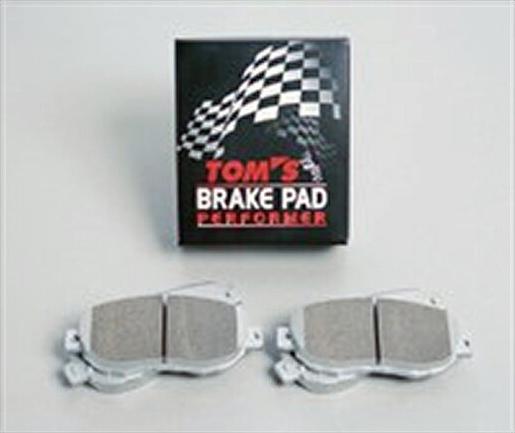 TOMS(トムス)ブレーキパッド パフォーマ/PERFORMER フロント クラウンアスリート/マジェスタ、マークX【TOM'S】【TOYOTA】【ブレーキ】