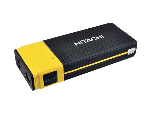ポータブルパワーソース ジャンプスターター 充電バッテリー 16000mAh 12V車専用 PS-16000 日立(HITACHI)