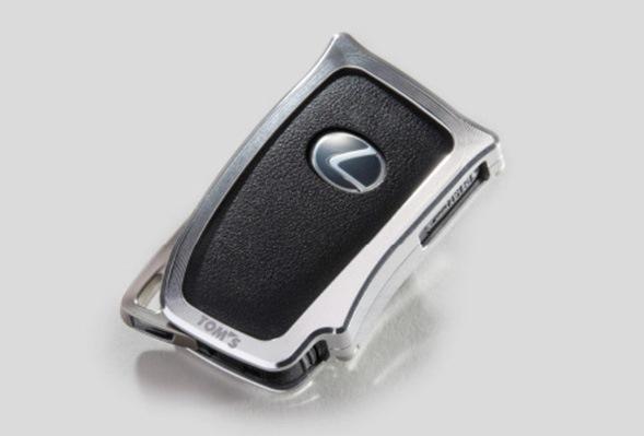 レクサス車(RC F/RC/GS F/GS(10)/IS(30)/LX/RX(20)/NX他)用アルミキーケース スマートキー用TOMS(トムス)
