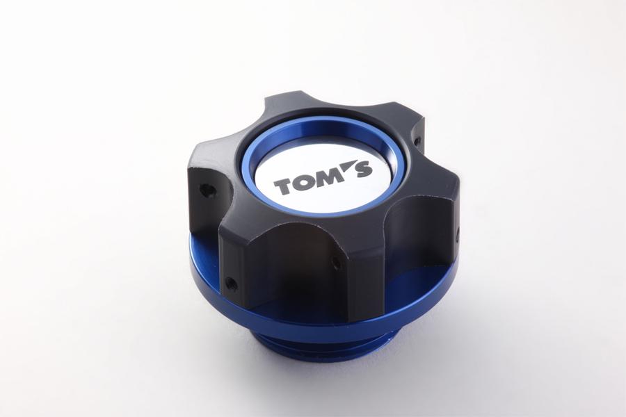 オイルフィラーキャップ ブルー M37 x P3.0 TOMS(トムス)