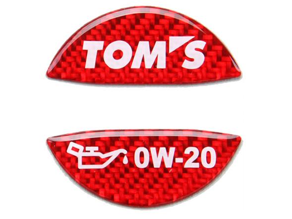 本日の目玉 オイルフィラーキャップガーニッシュ 0W-20 トムス 人気 おすすめ TOMS