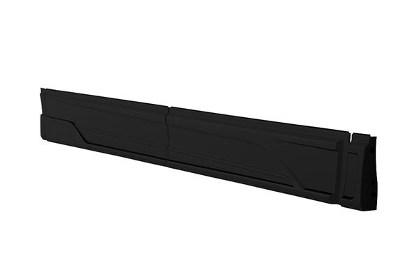 ヴェルファイア(GGH3#/AGH3#/AYH30)MC後 エアロタイプ用 サイドステップ ブラック TOMS(トムス)