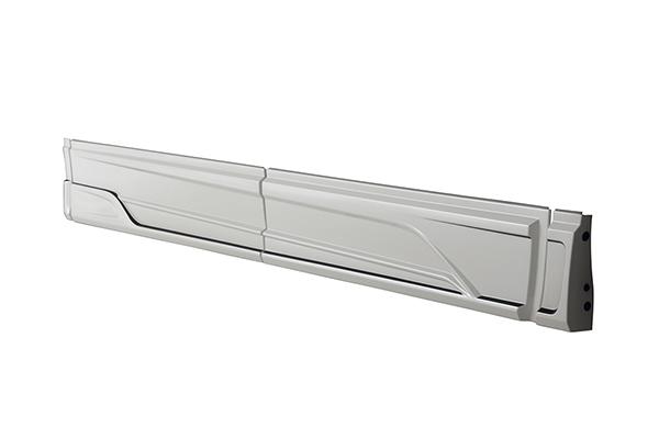 ヴェルファイア(GGH3#/AGH3#/AYH30)MC後 エアロタイプ用 サイドステップ ホワイトパールクリスタルシャイン TOMS(トムス)