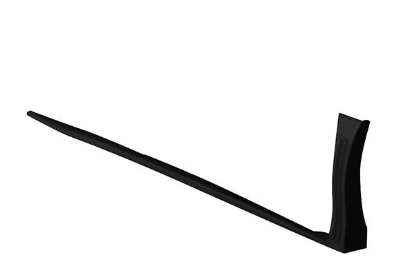 ヴォクシー(ZWR80W/ZRR80W ZSグレード)用 サイドステップ ブラック(202) TOMS(トムス) (代引不可)