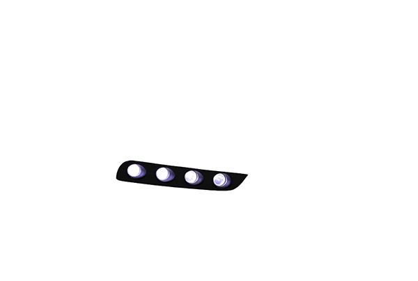 ヴォクシー(ZWR80W/ZRR80W ZSグレード)用 フロントスポイラー専用 LED TOMS(トムス)
