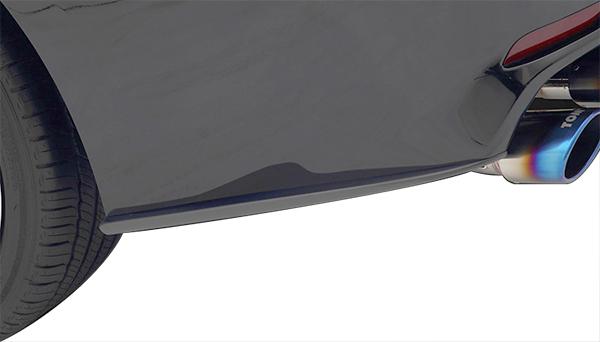 カムリ (AXVH70/WSグレード)用 リヤバンパーサイドフィン フラットブラック TOMS(トムス)