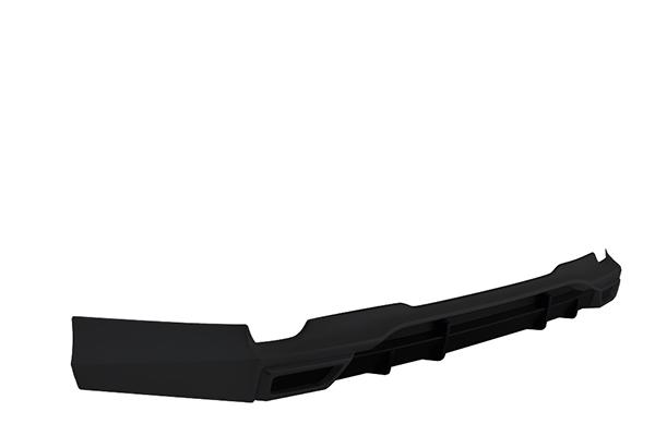 (送料別) ヴォクシー(ZWR80W/ZRR80W ZSグレード)用 リヤアンダースポイラー ブラック(202) TOMS(トムス)