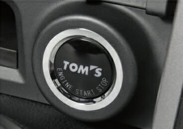 Push start button made in Tom's Toyota 86 (ZN6) for