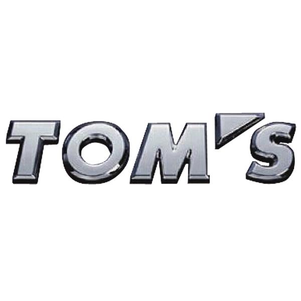 トムス(TOM'S) トムスエンブレム(クロームメッキ)【TOM'S】【TOYOTA】