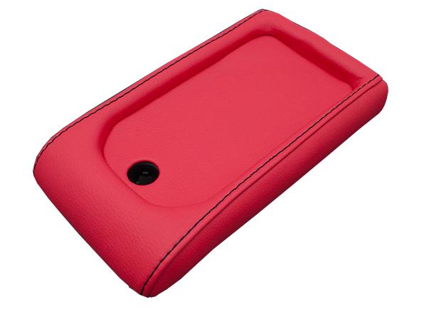 【G'BASE】 コペンLA400K センターコンソールカバー RED 鍵穴有り