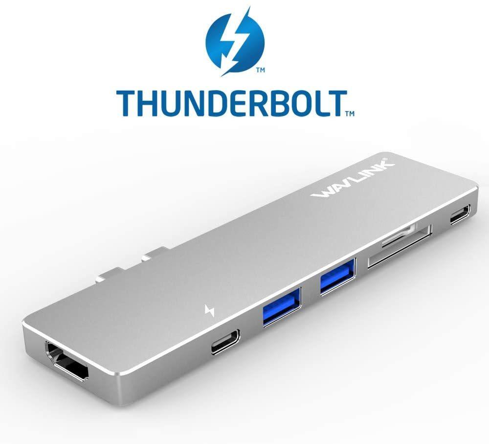 【楽天市場】Wavlink Usbハブ Type C 7in1 Thunderbolt 3 Usb 変換 ハブ