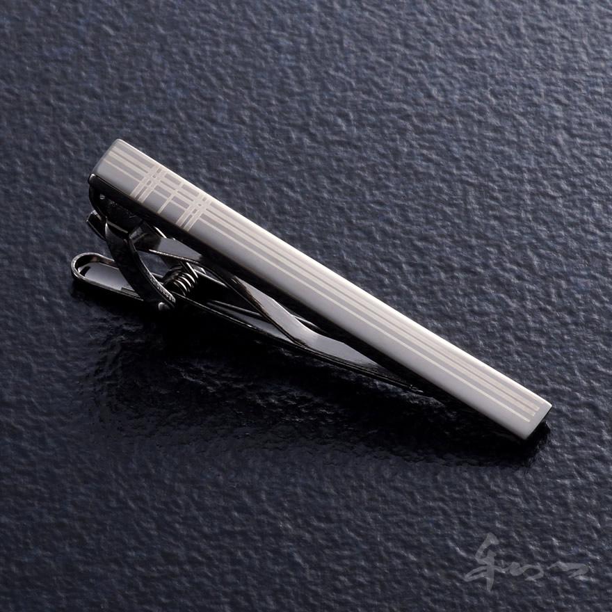 ネクタイピンP-20(当店オリジナル)シンプルタイピン結婚式・ブライダル・披露宴・パーティー・会議等のシーンに