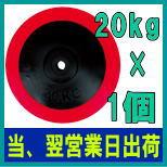 ラバープレート20kg×1個 【一流工場生産のライテック社(M-net)(エムネット)】DP089