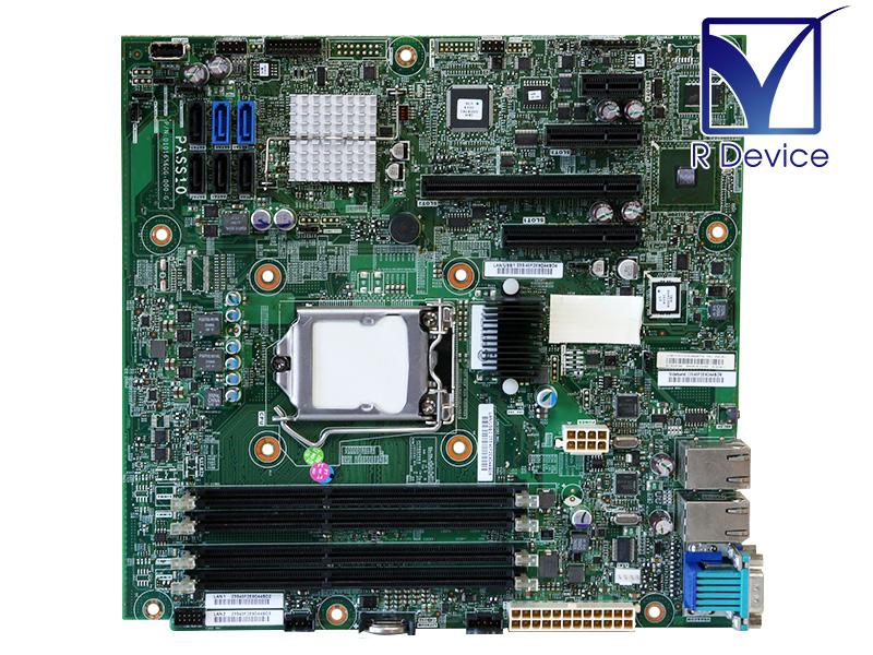 00AL957 IBM System x3100 M4用 マザーボード Intel C202/LGA1155 専用I/Oパネル付属【中古】【送料無料セール中! (大型商品は対象外)】