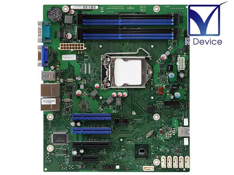 人気ブランド メーカー: 富士通テクノロジーソリューションズ Fujitsu Technology Solutions D3219-A11 最安値挑戦 PRIMERGY TX1310 Chipset Intel マザーボード M1用 C226 中古マザーボード LGA1150