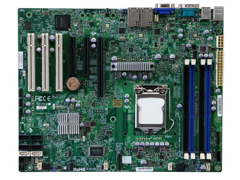 X9SCA Super Micro Computer ATXマザーボード Intel C204 PCH/LGA1155【中古】【送料無料セール中! (大型商品は対象外)】