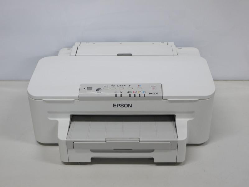 EPSON PX-205 A4インクジェットプリンター 有線/無線LAN対応【中古】【送料無料セール中! (大型商品は対象外)】