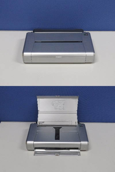 PIXUS iP100 Canon A4インクジェットプリンタ バッテリーキット付き 【中古】【送料無料セール中! (大型商品は対象外)】