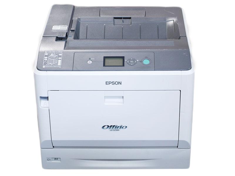 LP-S7100 EPSON A3 カラーレーザープリンタ 約5.7万枚【中古】