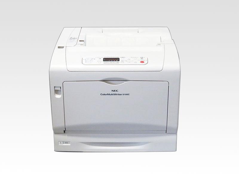 NEC Color MultiWriter 9100C(PR-L9100C) A3カラーレーザープリンタ 約1.1万枚 【中古】【送料無料セール中! (大型商品は対象外)】