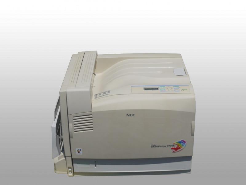 Color MultiWriter 9700C(PR-L9700C) NEC A3カラーレーザープリンタ 約1.7万枚 【中古】