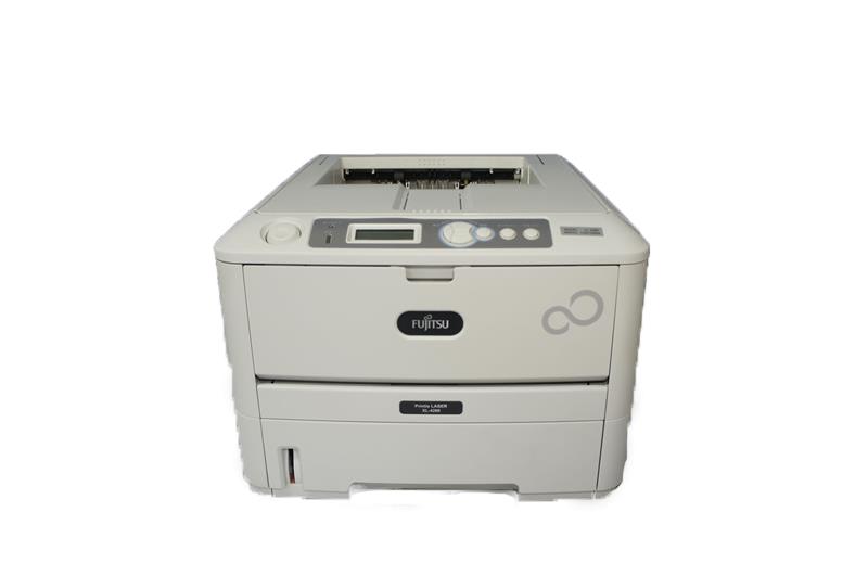 XL-4280 Fujitsu Printia LASER A4モノクロレーザープリンター 約6,500枚 USB/パラレル Windows2000対応【中古】