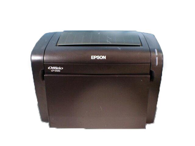 LP-S100 EPSON A4モノクロレーザープリンタ 約4,000枚【中古】