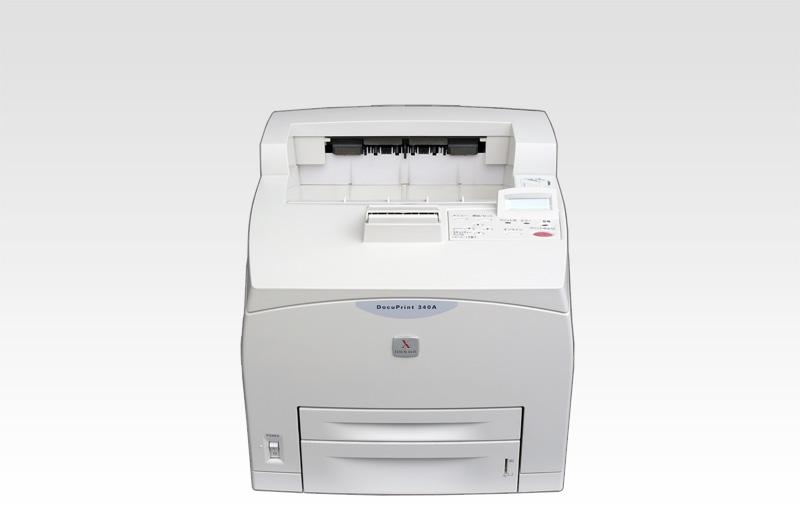 FujiXerox 富士ゼロックス DocuPrint 340A A4モノクロレーザープリンタ 約10.1万枚 USB/LAN/パラレル Windows 95対応【中古】【送料無料セール中! (大型商品は対象外)】