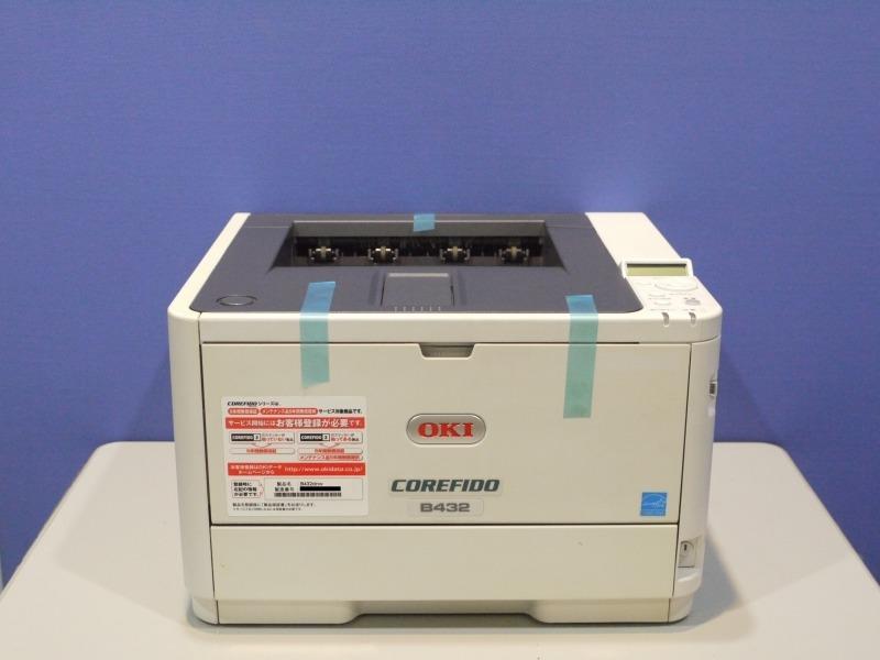 B432dnw OKI COREFIDO A4モノクロレーザープリンタ 約2.1万枚 :アールデバイス