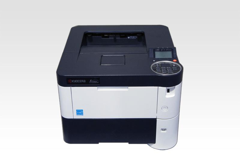 LS-2100DN Kyocera A4モノクロレーザープリンタ 約7.4万枚 【中古】