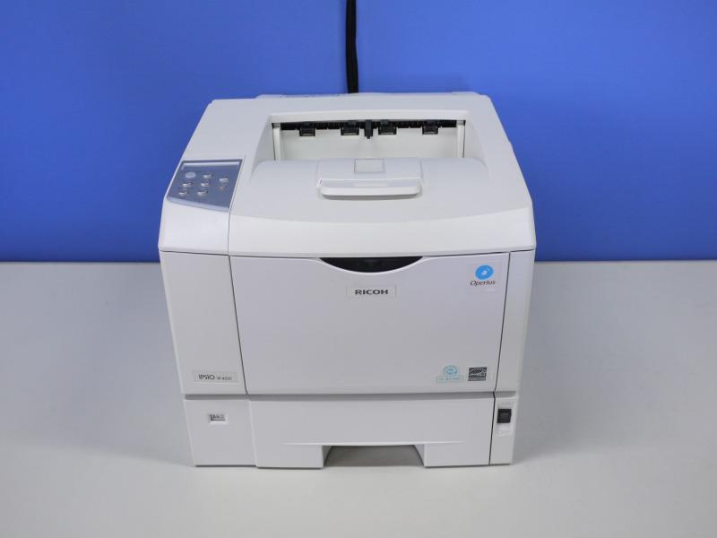 IPSiO SP4210 RICOH A4モノクロレーザープリンタ 約9,000枚以下【中古】【送料無料セール中! (大型商品は対象外)】